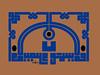 Afla uasmaoon Afala ubseroon (Jamal Muhsin) Tags: blue black art square circles name calligraphy script islamic jamal quranic islamiccalligraphy kufic muhsin kufi ayat afala uasmaoon ubseroon