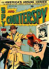 Spy vs Counterspy 2 (Michael Vance1) Tags: art adventure artist anthology comics comicbooks cartoonist spy silverage