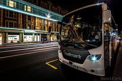 Brompton Road Reflections (Daniel Coyle) Tags: uk longexposure nightphotography england london night reflections lights nikon nightshot harrods knightsbridge lighttrails londonnight bromptonroad nightonearth d7100 danielcoyle nikond7100 lfman2016 bromptonroadreflections