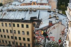 Floors (KLokteva) Tags: summer streetart art floors petersburg root  loftproject