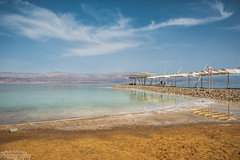 The Dead Sea (Moshe Ashkenazi Photography) Tags: blue sea sky beach clouds landscape dead nikon sp shore f di d750 28 mm dslr tamron vc usd the 2470