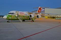 Airport Zurich LSZH ZRH (Roland C.) Tags: swiss avro lx zrh britishaerospace lszh hbiys avro100