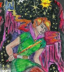 card-philip (regina11163) Tags: cartoon nightsky dreamland unreal dynamic