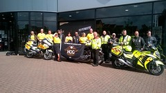 HOG Riders support Cornwall Blood Bikes (cornwallbloodbikes) Tags: cornwall bloodbikes