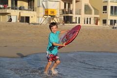 Olsen boogie boarding 1 (Aggiewelshes) Tags: beach june waves sandiego olsen missionbeach boogieboard 2016