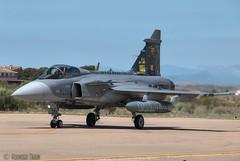 CZECH AIR FORCE. Saab JAS-39C Gripen 39-236 (Rodrigo Tran Corts) Tags: spain czech air tiger zaragoza airforce saab nato otan tigermeet gripen ntm2016