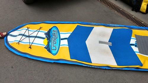 Aufblasbares leeres SUP-Board