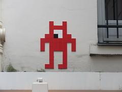 Space Invader PA_1210 (tofz4u) Tags: 75002 paris streetart artderue invader spaceinvader spaceinvaders mosaïque mosaic tile pa1210 bersek red rouge