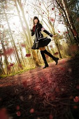 Yuki Cross (Teme Zalachenko) Tags: yuki cross vampire knight cosplay photography photoshop scenery nature light lightroom leaves fall