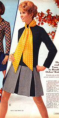 Aldens 70 fw houndstooth pleats (jsbuttons) Tags: advertising clothing mod buttons womens 70s catalog 1970 seventies 70 aldens vintagefashion