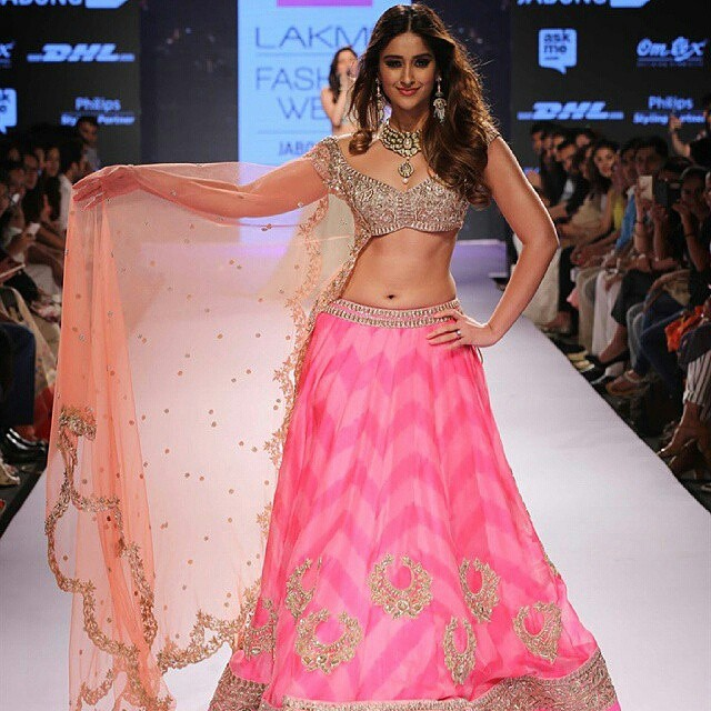 #Regrann from @instatollywood - Ileana dcruz looking like a doll in Anushree Reddy pink lehenga at Lakme Fashion Week. #instatollywood #tollywood #bollywood #ileanadcruz #anushreereddy #lakmefashionweek #lfw2015 #tamilcinema #india #tamil #telegu #malaya