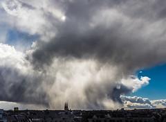 orkan niklas wiesbaden (maikepiel) Tags: light sky storm rain weather clouds germany deutschland licht wiesbaden cityscape himmel wolken niklas regen wetter sturm orkan unwetter ringkirche