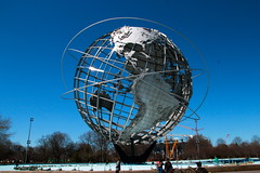Unisphere (quiggyt4) Tags: park nyc newyorkcity panorama newyork model gm expo manhattan plan flushingmeadows queens un moses planning corona unitednations pavilion gothamist gotham mets worldsfair unisphere worldfair usopen generalmotors nycparks robertmoses nymets ronpaul newyorkstatepavilion usta ows flushingpark occupy newyorkpanorama panoramamodel occupywallstreet