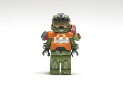 Halo Reach: Jorge (SpartanBricks) Tags: lego halo reach minifig custom