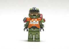 Halo Reach: Jorge (SpartanBricks) Tags: lego halo reach minifig custom