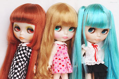 Translucent Skin and Special Eyes Girls