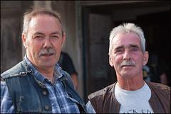 Adi and Ronnie BAMC 50th (sublevel3) Tags: portrait club 1 scotland 21 anniversary glasgow age motorcycle biker 50th bikers 1er bamc onepercenter 5dmkii blueangelsmc bluegang