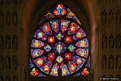 2004-11 Foto impressie - Cathedraal van Reims (Reims/FRA) (About Pixels) Tags: november france 2004 glass 1130 frankrijk reims kerk fra architectuur cathedrale kathedraal algemeen ardenne champagneardenne mozak collecties herfstseizoen mnd11
