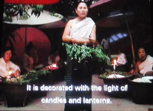 Video describing a market in Chiang Mai