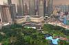 KLCC Park, Kuala Lumpur (Bokeh & Travel) Tags: park city nature skyline landscape nikon cityscape skyscrapers malaysia kualalumpur kl klcc suria skyrise skybar klccpark tradershotel