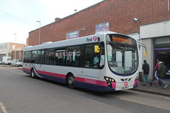 First Leicester - WX59 BYW (BigbusDutz) Tags: urban eclipse leicester first wright byw wx59