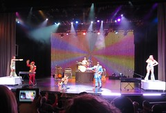 Air Guitar Boy (DeMay) Tags: thebeatles gogodancers sgtpepperslonelyheartsclubband vegasshow