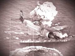 "1:72 Nakajima Ki-104-Ic '黒の尾/Kurono-o' (US code ''Cooper""); aircraft ""2"" of 3rd Imperial Japanese Army Air Force Headquarter Flight, May 1945 (Whif/Kibashing) (dizzyfugu) Tags: black look japan metal high force conversion pacific bare aircraft altitude aviation air tail fast plastic turbo fantasy worn weathered kit academy 1945 nakajima supercharger interceptor 1946 fictional ija thunderbolt b29 whatif kitbash modellbau p47 hikoki attac shinden attacker kitai nmf whif ki100 dizzyfugu j7w kuronoo ki104 ki94 ki94i ki106"