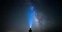 Stargazing (Christophe_A) Tags: sky night star nikon stargazer greece astrophotography cave christophe antiparos d800 milkyway 14mm samyang christopheanagnostopoulos