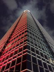 Hong Kong (panoround hutter) Tags: skyline travel colores colors hongkong high