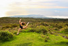 Reunion Island (abigailmorellon) Tags: sky green reunion grass landscape fly dancer danse paysage saut île danceuse