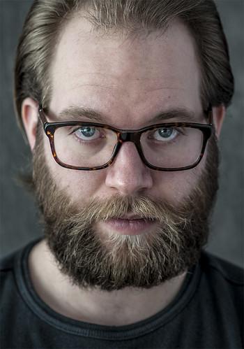 A man a beard