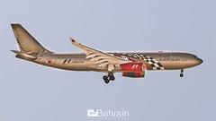 Gulf Air (Airbus A330-200) (aeroBahrain) Tags: sky plane airplane photography bahrain airport flag aircraft aviation jet airshow airbus boeing cessna manama airbase facebook bombardier twitter instagram aerobahrain
