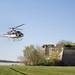 Baptême de l'air en hélicoptère au Printemps des Vins de Blaye