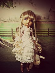 Mary and her lamb (annesstuff) Tags: doll mary korea lila lamb bjd fashiondoll abjd nurseryrhyme diablesse maryhadalittlelamb annesstuff maryandherlamb soomlila averycattyday