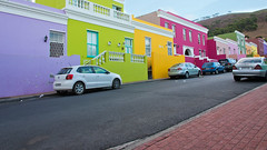 Colorful Bo-kaap (Barry Haynes) Tags: africa road street houses homes sunset house mountain cars home clouds southafrica nikon colorful afternoon district hill capetown cobbled quarter tablemountain malay signalhill westerncape bokaap bokap capemalay nikond600 barryhaynes westernprovience