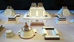 Model of the Sacred Precinct, Tenochtitlan