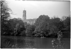 Highfields Park, Nottingham. (Pariah Pics) Tags: film vintage kodak antique 120film brownie browniecamera rollfilm