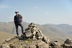 Niels poses on the summit of Pen (nielsrasmussen691) Tags: people lakedistrict places niels summits