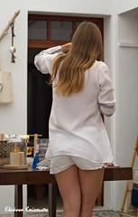 Λίνδος Lindos (Eleanna Kounoupa) Tags: street woman white hair islands greece rodos lindos γυναίκα ελλάδα λευκό dodecaneseislands δρόμου νησιά δωδεκάνησα ρόδοσ λίνδοσ άσπρο μαλλιά