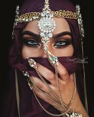 Revival (eset is) Tags: art photography bahrain desert muslim uae hijab culture makeup jewelry muslimah emirates yemen arabian winds saudiarabia islamic qatar middleeastern