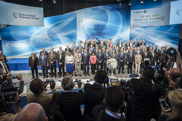 The media photographs group of Ministers