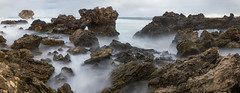 Don't Fall In (Astronomy*Domine) Tags: longexposure panorama water point rocks filter perth nd limestone milky westernaustralia peron rockingham kenko