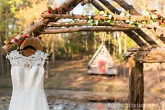 Double View (karin8700) Tags: wedding shoot arch dress view farm cottage double archway styled nikond7100