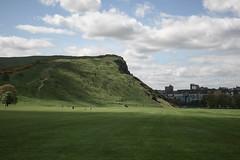 Here comes the sun (Jean I Cresol) Tags: park uk sky green landscape scotland spring edinburgh unitedkingdom may ground holyrood 15th holyroodpark 2016