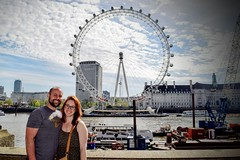 London Eye (Weekend Wayfarers) Tags: city uk greatbritain travel bridge portrait travelling westminster thames portraits river travels europe cityscape unitedkingdom exploring travellers cities cityscapes bridges londoneye travellings wanderlust adventure explore rivers ferriswheel traveling riverthames travelers travelblog eyeoflondon travelphotography travelphotographer travelblogs travelblogger travelings travelbloggers travelphotographers travelblogging weekendwayfarers