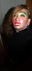 Mask, and heart choker (Christie Jane) Tags: tv mask cd crossdressing tgirl transgender sissy tranny transvestite crossdresser crossdress gurl choker tg trannie xdressing xdress tgurl femalemask heartchoker xdressresser