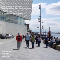 no 9 in Mercy series. Text from Pope Francis' intro to Year of Mercy. Images from Liverpool.  #stillness #prayer #contemplation #popefrancis #yearofmercy #liverpool  #brothers #sisters (morningbell2u) Tags: sisters liverpool brothers prayer stillness contemplation popefrancis yearofmercy