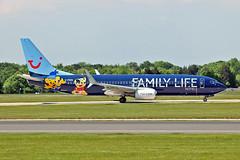 """G-FDZG Boeing 737-8K5SC Thomson Airways MAN 03-06-16 (PlanecrazyUK) Tags: egcc manchester man ringway """"manchester airport"""" gfdzg oeing7378k5sc thomsonairways 030616"""