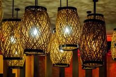 Wicker light shades (Victor Wong (sfe-co2)) Tags: light usa hawaii hotel audience waikiki shades conference honolulu sheraton wicker 2015 pacifichem