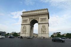 Arc de Triomphe (CamJrOff) Tags: france paris arcdetriomphe town city old road life art photographie pic picture architecture louvre pyramide sculpture batiment jr g7x